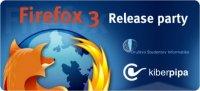 Velika zabava ob izdaji Firefox 3